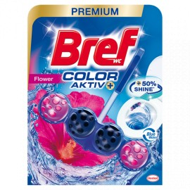 Bref Color Aktiv WC Golyó 50 g - Fresh Flowers
