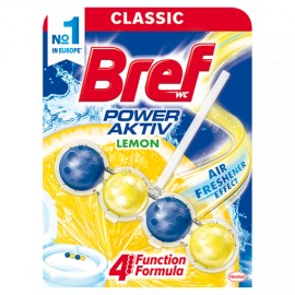 Bref Power Aktiv Lemon WC-frissítő 50 g