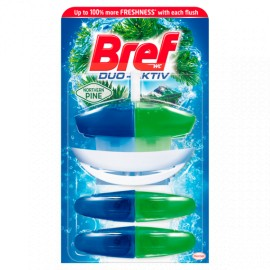 Bref Duo Aktiv 3x50ml - Pine
