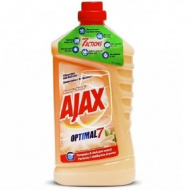 Ajax Optimal7 Általános Tisztítószer Parketta & Fafelületekre Mandula 1L