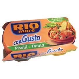 Rio Mare Pronto gusto Tonhal zöldborsóval és paradicsomos 2x160gr