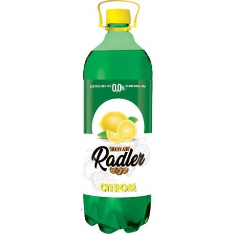 Royal Radler üdítőital 1 L alkoholmentes citrom