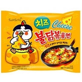 Samyang Cheese Spicy Chicken Roasted Noodles 140g