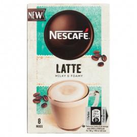 Nescafé Latte azonnal oldódó kávéspecialitás 8 x 15 g milky & foamy