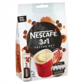 Nescafé Toffee Nut 3in1 instant kávé italpor 10x17 g