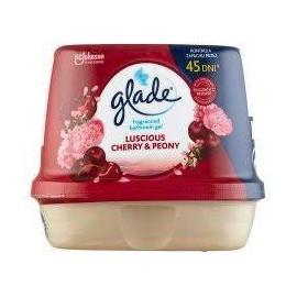 Glade Luscious Cherry & Peony fürdőszobai légfrissítő zselé 180 g