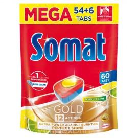 Somat Gold Doypack 54+6db mosogató kapszula