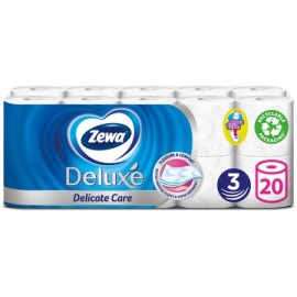 Zewa Deluxe 3 rétegű toalettpapír, illatmentes, 16 tekercs