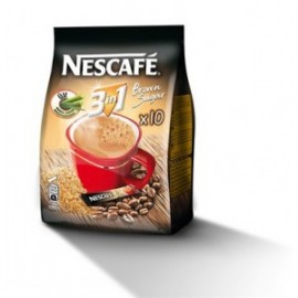 Nescafe 3in1 Barna cukor tasak 16,5gx10