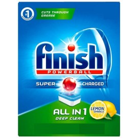 Finish All In One Powerball  120 Tabs