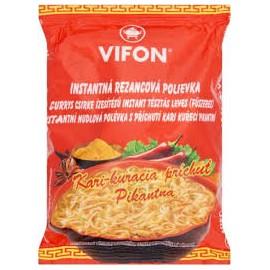 Vifon Currys csirke ízesítésű inst.tésztás leves 60g
