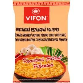 Vifon Garnélarák ízesítésű inst.tészta leves 60g