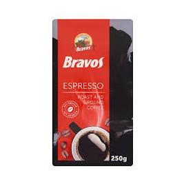 Bravos Espresso őrölt vak. kávé 250g