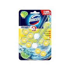 Domestos Power5 WC-rúd 2x55g Lime
