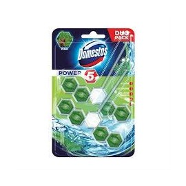 Domestos Power5 WC-rúd 2x55g Pine